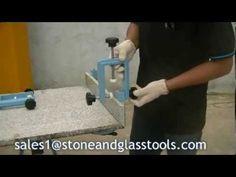 90 Degree clamp M2 Ausavina for Stone, glass industries,countertop, benc...