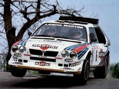 Lancia Group B - The Group B era was legendary !