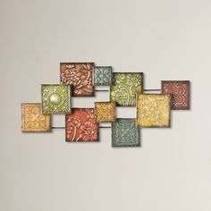 Three Posts™ Bijou Square Panel Wall Décor