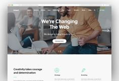 IT Companies and Tech Startups WordPress Themes 2019 - New Template Professional Wordpress Themes, Best Wordpress Themes, Dentist Website, Amazing Websites, Construction Services, Company Profile, Photography Website, Car Rental, Startups
