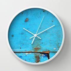Segments Wall Clock by David Bastidas | Society6