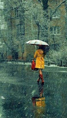Rain ♥️ #RaincoatsForWomenAprilShowers