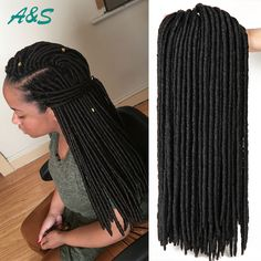 18 inch faux locs crochet braids hair extension synthetic dreads havanna mambo crochet braids expression braiding hair extension AS hair store from aliexpress. Our email is ashair2016@outlook.com. wholesale price