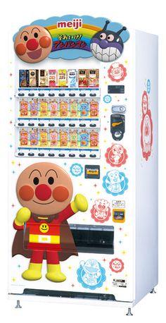 Another Anpanman vending machine