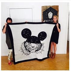 Check out this knitted blanket!! Coming soon #saltcityemporium #illustrations by kellie_holley