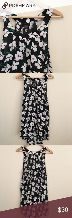 Torrid Floral Tunic Cute floral Tunic from Torrid. Size 1. Excellent used condition. torrid Tops Tunics