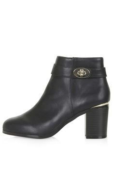 BE MINE Heeled Ankle Boots - Topshop