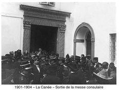 Χανιά. 1900 περίπου. Φωτογραφικό Αρχείο του συνταγματάρχη Émile Honoré Destelle. Δημοσίευση Ελένης Σημαντήρη. Crete, Concert, Concerts