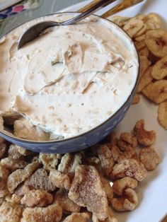 Starters! Smoked Bangus Cream Cheese Dip w Banana Chips #Filipino
