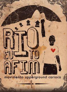 Rio Eu Tô A Fim - arte de Antonio Bokel para Hospedaria Carioca (2007)