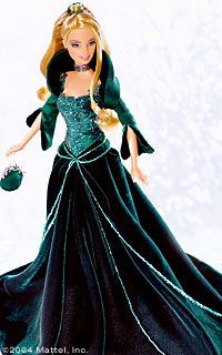 2004 Holiday Barbie Doll