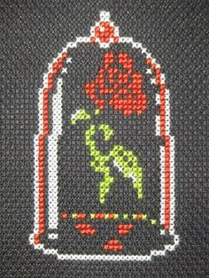 beauty and the beast rose cross stitch - Pesquisa Google