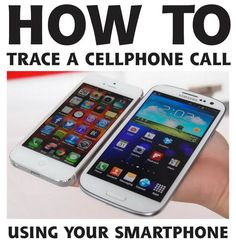 DIY Phone Hacks - Trace A Cellphone Call Using Your Smartphone - Cool Tips and Tricks for Phones, Headphones and iPhone How To - Make Speakers, Change Settings, Know Secrets You Can Do With Your Phone By Learning This Cool Stuff - DIY Projects and Crafts Iphone Hacks, Iphone 8, Iphone 7 Plus, Cell Phone Hacks, Smartphone Hacks, Android Hacks, Android Smartphone, Apple Iphone, Android Tutorials