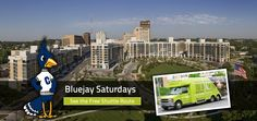 Bluejay Saturday's at Midtown Crossing! Take the shuttle to and from Creighton's campus all day long! Omaha, NE