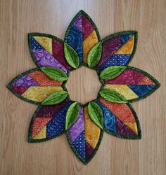 Image result for folded wreath leaf topper