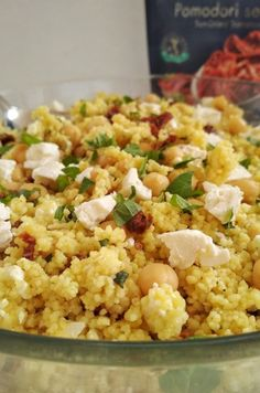 Feta Salad, Fried Rice, Fries, Queso Feta, Tasty, Ethnic Recipes, Food, Gastronomia, Vegetarian Recipes