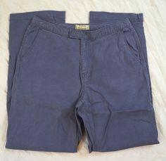 Tommy Bahama Straight Leg Stretch Womens Purple Khaki Pants Size 4 (Q26#30) #TommyBahama #KhakisChinos