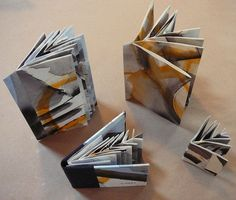 Making Handmade Books: Variation on Hedi Kyle's Fishbone Fold