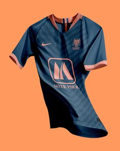 Sports Jersey Design, Sports Graphic Design, Football Design, Soccer Kits, Football Kits, Soccer Uniforms, Football Jerseys, Sexy Cowgirl Outfits, Camisa Nike