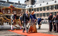 King Willem-Alexander and Queen Máxima Attend the 2016 Prinsjesdag