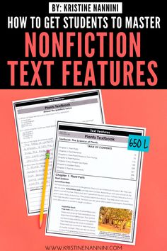 Freebies to Help Students Master Nonfiction Text Features Spanish Language Learning, Teaching Spanish, Language Arts, 5th Grade Classroom, School Classroom, Reading Passages, Reading Comprehension, Sixth Grade Reading, Nonfiction Text Features