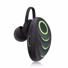 Portable Excelvan A3 Wireless Bluetooth One-Piece Earphone with HiFi Stereo Music Earset and Built-in Microphone #Technology #gadgets #cool