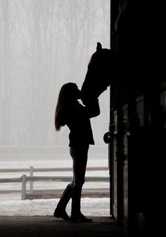 There is no love greater than that between a girl and her horse.