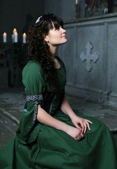 """Das Mittelalter Kleid """"Prinzessin des Waldes"""""""