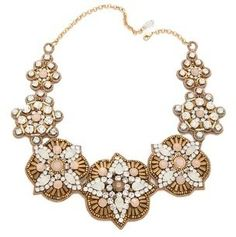 Deepa gurnani Embellished Statement Necklace Deepa Gurnani