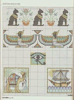 EGYPTIAN x-stitch