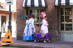 Heck with it I'm going to post another bc I will never see 3 women dressed in period costumes pulling a wagon with an adorable  And a single #mardigras #bead ! #followyournola #showmeyournola #igersneworleans #nolastyle #streetscene #babies #babiesofinstagram by notrex