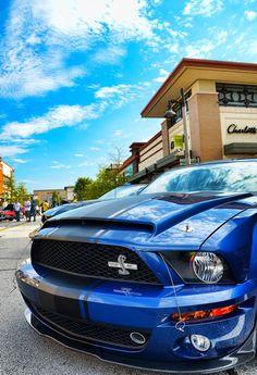 Ford Mustang Super Snake. Shelby GT500 Super Snake Car