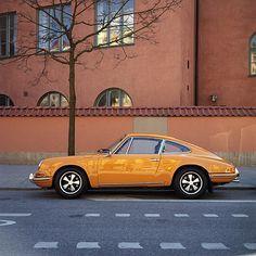 1960's Porsche 911 #yellow