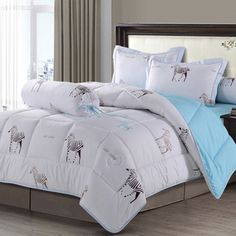 ซื้อ ขาย ราคาไม่แพง Zleep Sleep ชุดผ้าปูที่นอน 3.5 ฟุต 4 ชิ้น พร้อมผ้าห่ม รุ่น MoMa ลาย Zebra ซื้อออนไลน์ ชำระเงินได้หลากหลายช่องทาง