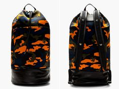 this givenchy backpack is sooo Cool ! I love the color cammo blent in. its a bit look like Valentino