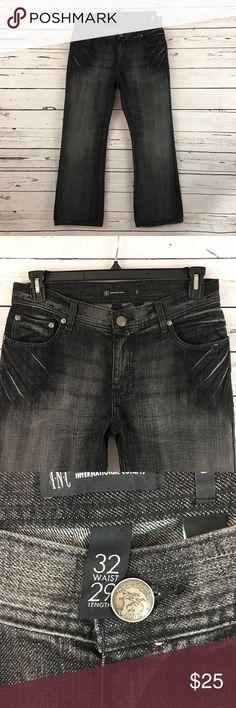 INC Men's Jeans Men's black jeans, 32 waist, 29 inseam. INC International Concepts Jeans Bootcut