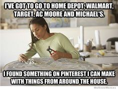 What Pinterest has done to women...