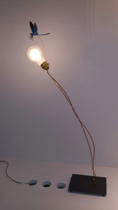 Ingo Maurer, Cologne, Cable, Table Lamp, Interiors, Lighting, Home Decor, Cabo, Table Lamps