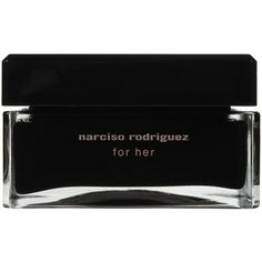 Narciso Rodriguez for Her Body Cream-5.2 ounces (1.962.005 VND) ❤ liked on Polyvore featuring beauty products, bath & body products, body moisturizers, fillers, beauty, fillers - black, makeup, black and narciso rodriguez