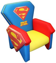 Superman's Kids Chair Brad would love to get this