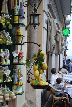 """Lemon"" souvenir shop, Amalfi , Italy"