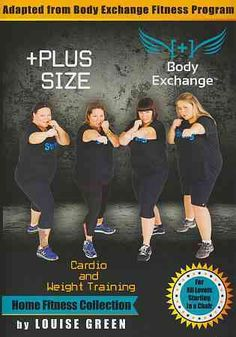 Plus Size Workout: Cardio & Weight Training with Louise
