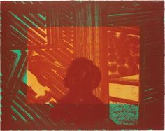 Howard Hodgkin, Artist and Model (in green and yellow)