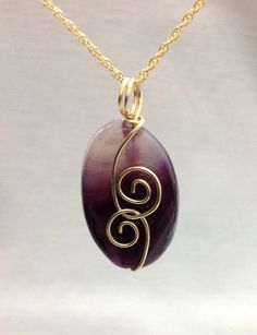 Hey, I found this really awesome Etsy listing at https://www.etsy.com/il-en/listing/220915507/natural-painted-purple-agate-pendant-in