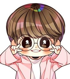 Ohh je la trouve mignon vraiment j'aime comme ces photos , et j'adore aussi le d… Ohh I find it cute really I like like these photos, and I also love the drawing. Jungkook Fanart, Fanart Bts, Jungkook Cute, Jimin, Bts Chibi, Anime Chibi, J Hope Dance, Bts Pictures, Photos