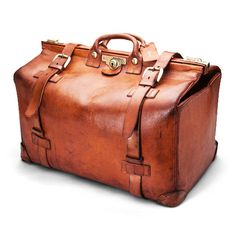 4b205f03c4 Large Leather Gladstone Bagby Harrods of London Gladstone Bag