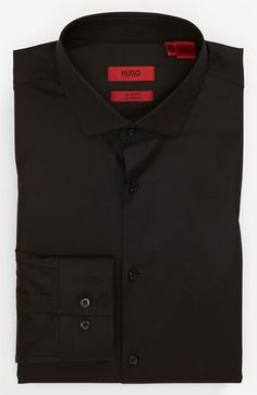 HUGO Slim Fit Cotton Stretch Dress Shirt available at #Nordstrom