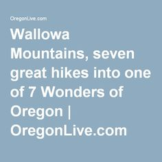 The easiest way to see the high peaks of the Wallowas is to take the Wallowa Lake Tramway feet up to the summit of Mount Howard. Hike the short nature trail, or hike the ridge south all the way to Aneroid Mountain. Oregon Travel, Rv Travel, Summer Travel, Joseph Oregon, Visit Oregon, Portland Oregon, Travel Inspiration, Vacations, Trips