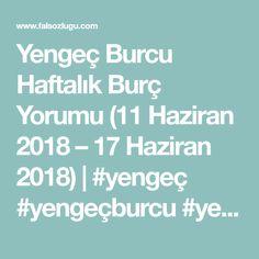Yengeç Burcu Haftalık Burç Yorumu (11 Haziran 2018 – 17 Haziran 2018) | #yengeç #yengeçburcu #yengec #aşk #ask #sevgi #para #saglik #kazanç #meslek #iş