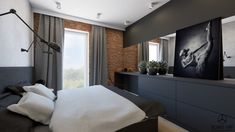 Divider, Bed, Room, House, Furniture, Design, Home Decor, Bedroom, Decoration Home